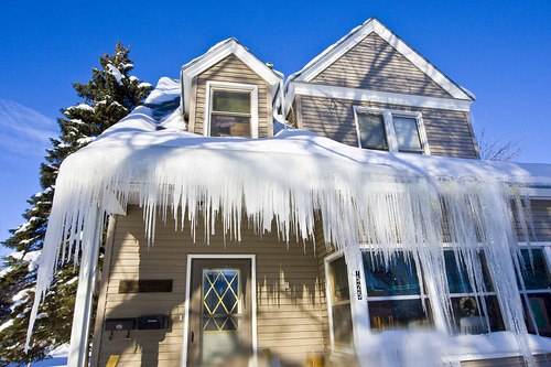 Ice Dam & Water Damage