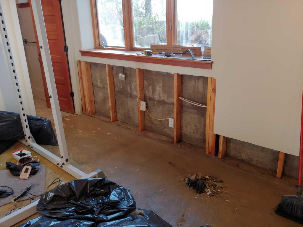 Drywall Water Damage Cleanup